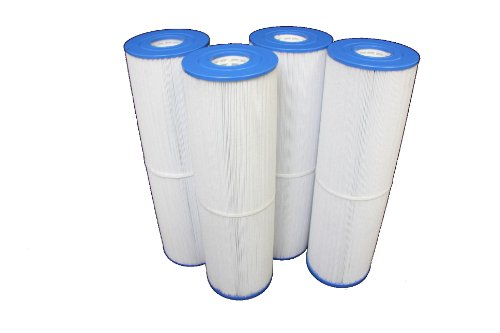 4 Pack Lot Filter Cartridges FITS: C5397 UNICEL C-5397 Filbur FC-2972 Pleatco PLBS100 RAINBOW PLASTICS by Guardian Filtration Products