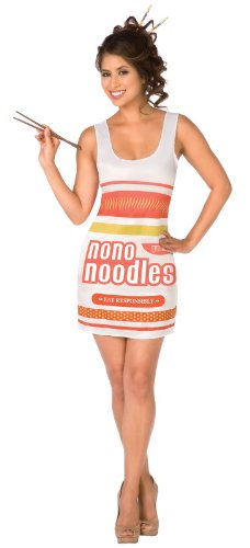 Instant Noodles Adult Costume Size Medium (10-12) - Instant Noodle Costume