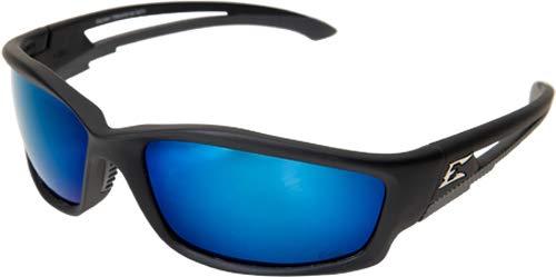 Edge Eyewear TSKAP218 Kazbek Polarized Aqua Precision Blue Mirror Lens (6 Pack) by Edge Eyewear (Image #3)