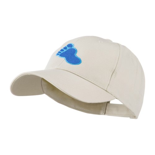 Bigfoot Track Mascot Embroidery Cap - Stone OSFM
