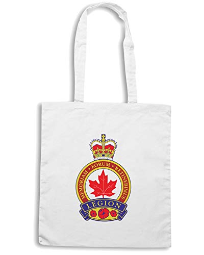 LEGION Shopper ROYAL Bianca CANADIAN Borsa MILITARI TM0412 Xd4nXq