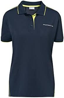 Porsche Damen Sport Polo-Shirt Gr. S - WAP54100S0J: Amazon.es ...