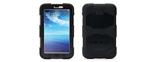 Griffin Survivor Rugged Case for Samsung Galaxy Tab 3,7 Inches Black (Survivor Case For Samsung Tab 3)