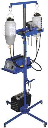K&L Supply Portable Auxiliary Gas & Fan Caddy 35-9453