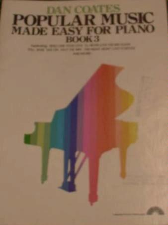 popular music made easy for piano book 3