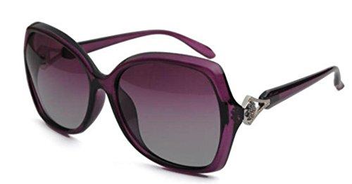 Gafas Y Purple Moda De De De Sol Mujer Europa Para América wxwrpqfnTP