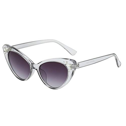 50s Vintage Cat Eye Sunglasses for Womens with