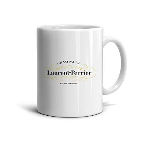 - AOGU22XIAN Fun 11 Oz White Ceramic Mugs Laurent-Perrier-a-Tea Mugs Perfect Souvenir