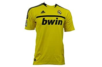 3a01bf9d6a9 Image Unavailable. Image not available for. Colour  Adidas REAL H GK JERSEY  Yellow Black Men Football Jersey Real Madrid Goalkeeper