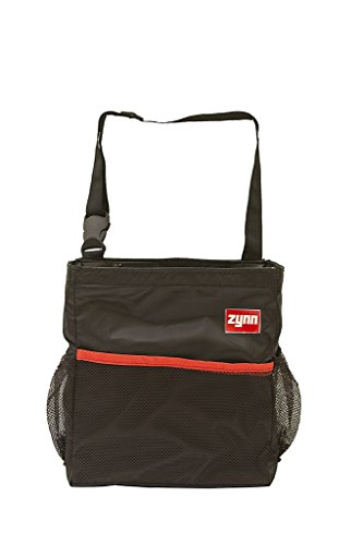 Car Trash Can or Auto Garbage Bag with Lid from Zynn Premium Waterproof Container with Side Pockets and (Bling Garbage Can)
