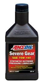 - Amsoil Severe Gear SAE 75W140