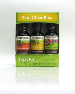 THe Herbalist Skin Clear Triple Kit Medicinal Herbal Blends ()