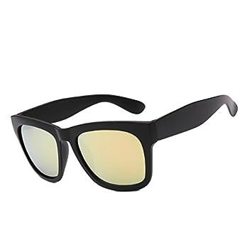 Zokra - Polarzied Gafas de Sol Hombres Mujeres Espejo ...