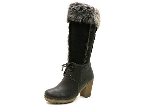 Högl - Botas de cuero para mujer marrón marrón