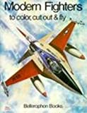 Modern Fighter Plane Coloring Book