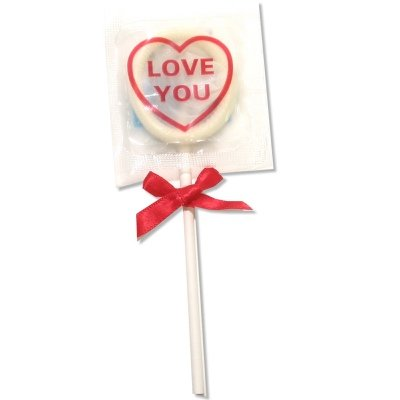 Global Protection Love You Condom Pops: 1-Pack of Condoms