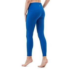 - 31DNVoTrgiL - Yoga Leggings High-Waist Tummy Control w Hidden Pocket
