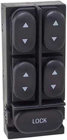 Door Power Window Switch Front Left WVE BY NTK 1S14244