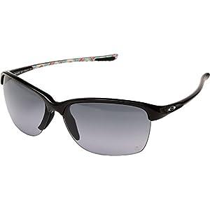 Oakley Womens Unstoppable Sunglasses (OO9191) Black/Grey Plastic - Non-Polarized - 65mm