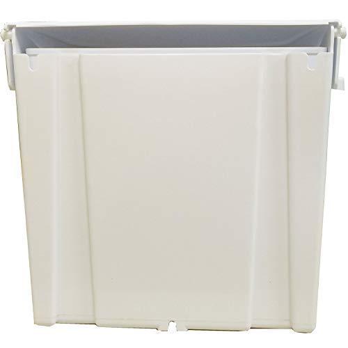 Janico 1030 Sanitary Napkin Receptacle Feminine Hygiene, Wall Mount, White by Janico (Image #6)