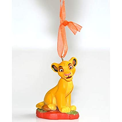 Amazon Com Disneyland Paris Simba From Lion King Christmas Ornament