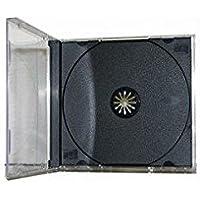 25 Standard CD Jewel Case - Assembled - Black