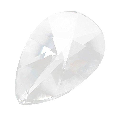 ASFOUR CRYSTAL 76mm Teardrop Suncatcher Crystal Prisms #873-76