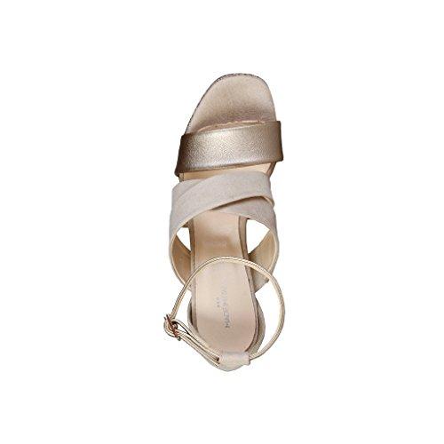 Made In Italia - OFELIA Damen Sandalen Fersen 11 cm Plattform 2 cm Braun