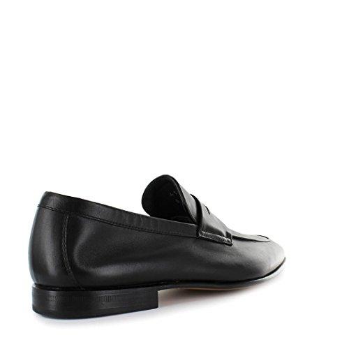 Moreschi Noir Chaussures 2018 Mocassin Cuir Homme Été Printemps 8wp8Irq6xn