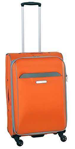 swiss-cargo-trulite-24-spinner-luggage-orange-silver