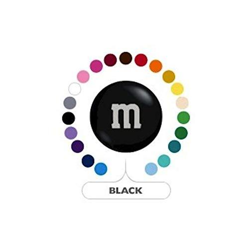 M&M's Black Milk Chocolate Candy 1LB Bag]()