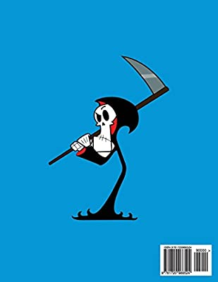 The Grim Adventures of Billy & Mandy color page - cartoons coloring | 400x309