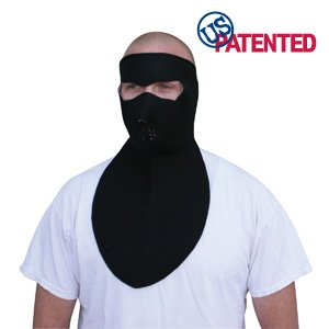 Zan Headgear Neoprene Mask with Neck Shield