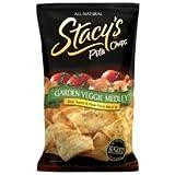 Garden Veggie Medly Pita Chips 7.33 Ounces (Case of 12)