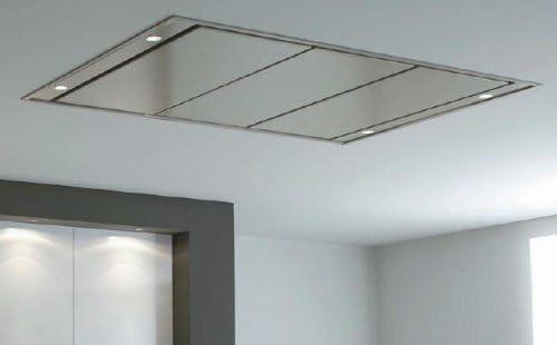 Pando E-210 1100 m³/h De techo Acero inoxidable - Campana (1100 m³/h, Canalizado, 39 dB, 64 dB, De techo, Acero inoxidable): Amazon.es: Hogar