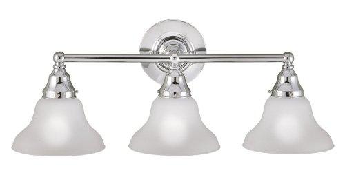 (World Imports Lighting 70273-08 Asten 3-Light Bath Light,)