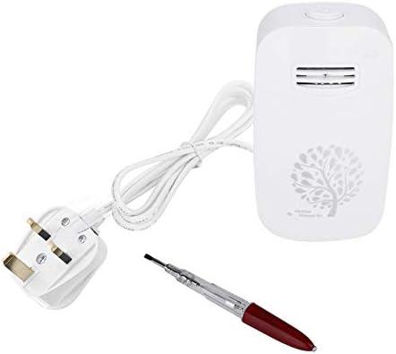 Qiilu Generador de iones negativos, limpiador portátil de ...