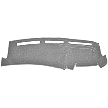 Seat Covers Unlimited Chevy Colorado Dash Cover Mat Pad Fits 2004-2012 Custom Suede, Black
