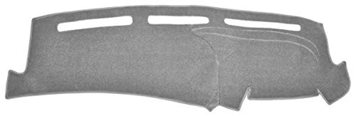 Chevy Blazer Dash Cover Mat - Mini S-10 - Fits 1995-1997 (Custom Carpet, Silver)