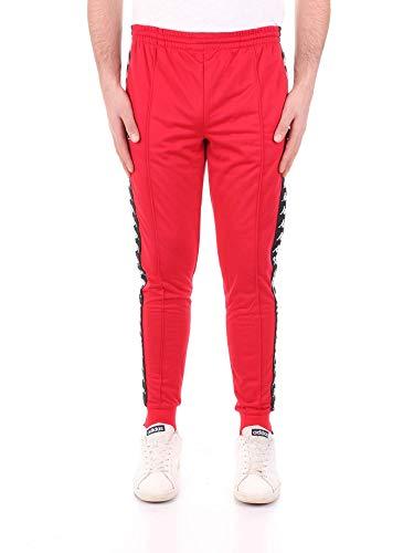 nero Kappa Banda Unisex 222 Rastoria bianco Pantaloni Rosso UwPYAwx8q