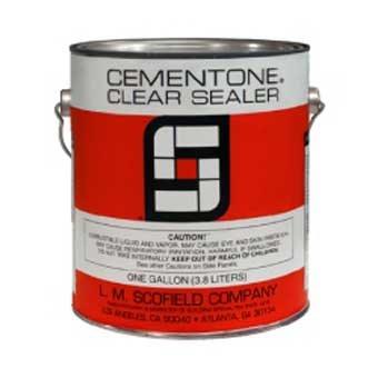 Scofield's Cementone® Clear Concrete Sealer - Low VOC - 5 Gallon Pail