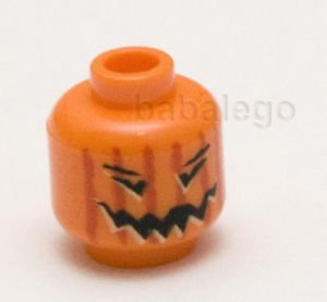 LEGO Pumpkin Minifigure Head Halloween