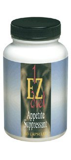 Maximum Intenational 1-EZ Diet, Appetite Suppressant, 60 Capsules by MASADA