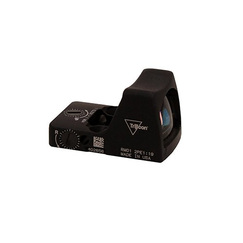 Trijicon RM01-C-700600 RMR Type 2 LED Sight, 3.25 MOA Red Dot Reticle, Black