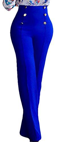high waisted pleated dress pants - 8
