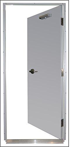 Steel Door, Mortise, LHR, 36 x 80 in.