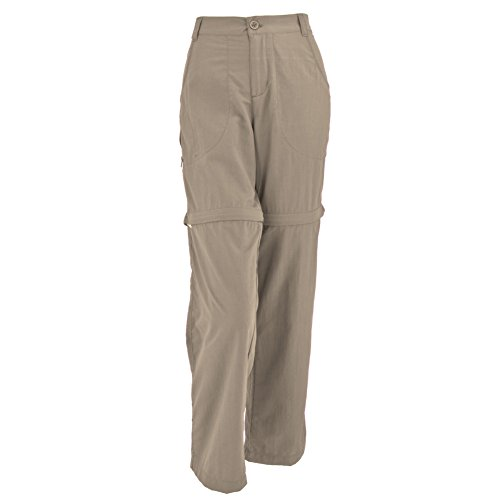 White Sierra Pt. Convertible Pant - extended Sizes, Khaki, 1X