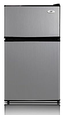 SPT RF-354SS 3.5 cu. ft. Double Door Refrigerator, Stainless Steel