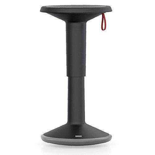 Up Is 1 - Plastique - noir - höhenverstellbar von ca. 46 bis 65 cm