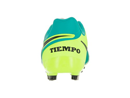 Nike Jr Tiempo Legend Vi FG, Botas de Fútbol Unisex Bebé Clear Jade/Black/Volt